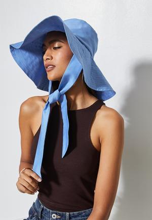 Kelley summer hat - blue