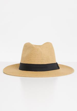 Grace straw hat - natural