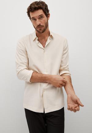 Shirt forona - light beige