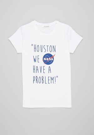 NASA graphic tee - white