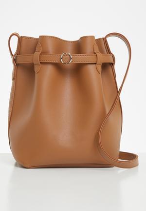 Clarissa bucket bag - tan