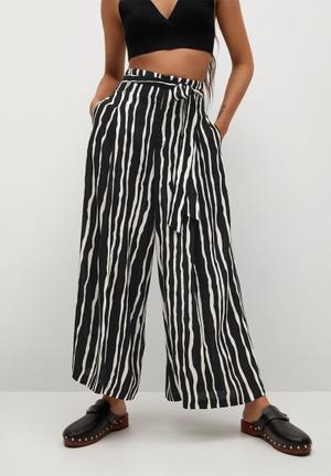 Trousers didi - black & white