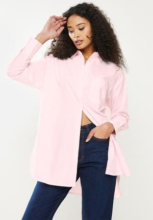 Shirt james - light pastel pink