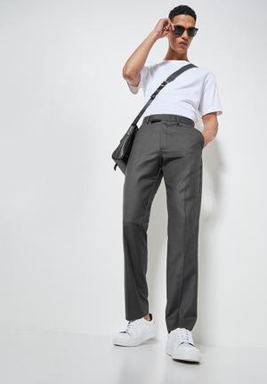 Regular fit trouser - grey