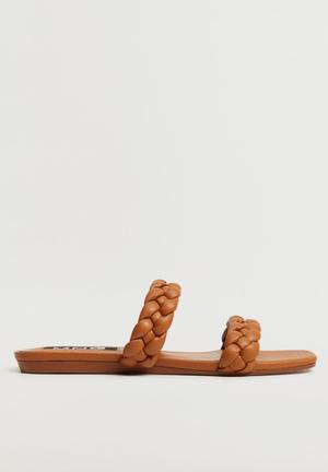 Mulan sandal - medium brown