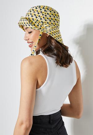 Jess floral print sun hat - multi