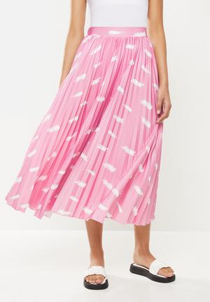 Co - ord skirt - pink