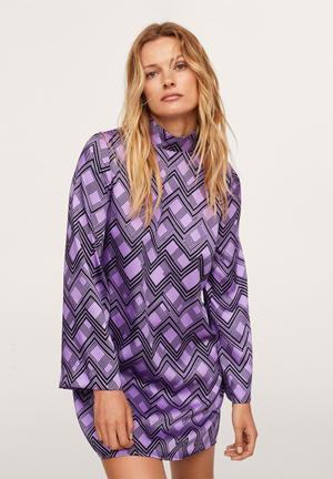 Dress donatela - purple