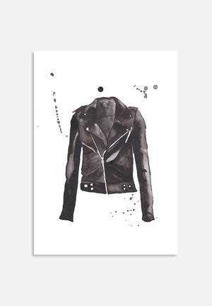 The Aestate Moto Jacket Art