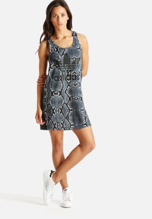La Print Tank Dress