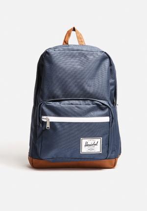 Herschel Supply Co. Pop Quiz Bags & Wallets Navy/Tan PU