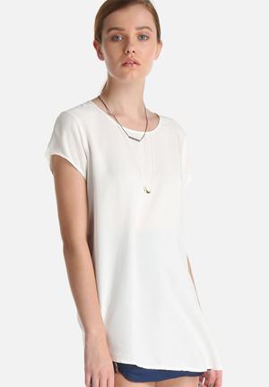 Vero Moda Boca Top Blouses White