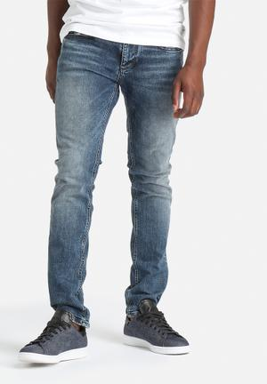Two Mario Slim Denim