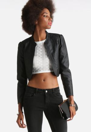 Rich Faux Leather Jacket