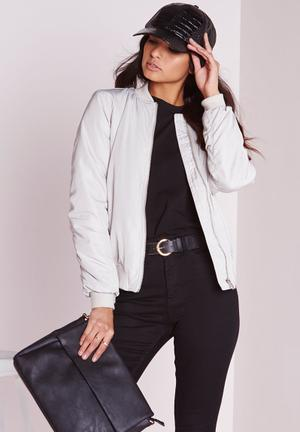 Soft Touch Bomber Jacket