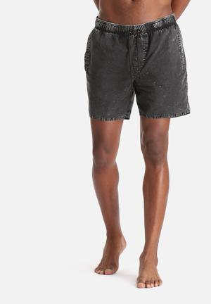 Elastic Denim Walkshort