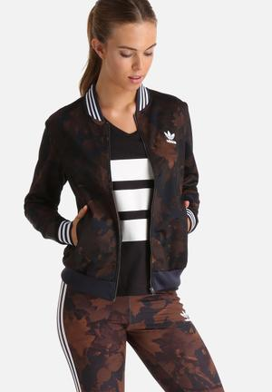 Leaf Camo Superstar Track Top