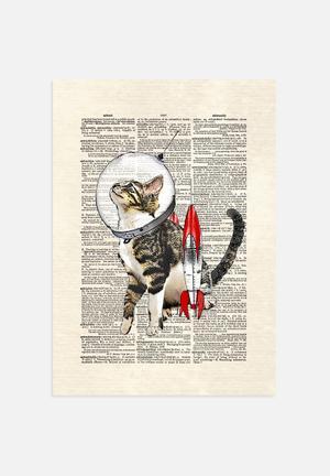 Matt Dinniman  Space Cat Art