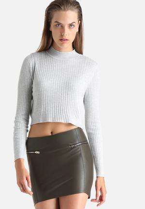 Misty Cropped Sweater