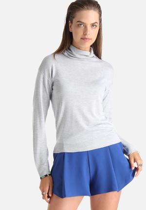 Becca Polo Knit Sweater