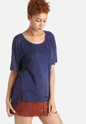Selected Femme Jade Tee T-Shirts, Vests & Camis Navy