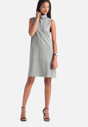 Calling Hi Neck Dress