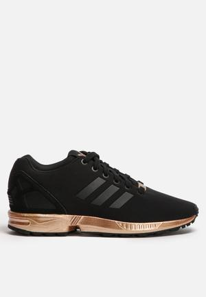 adidas originals zx flux black copper metallic