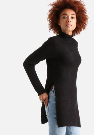 Side Split Knitted Jumper