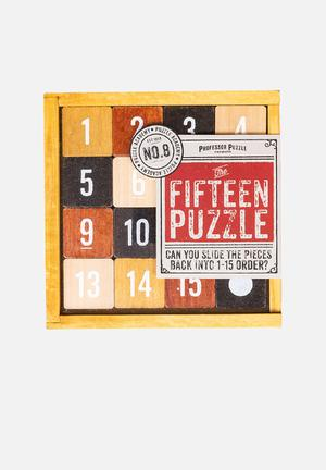 Professor Puzzle     The Fifteen Puzzle