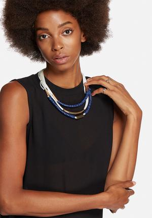 Vero Moda Allie Necklace Jewellery Blue