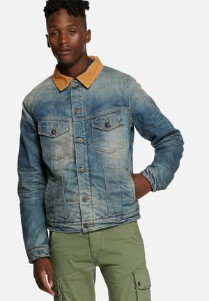 Alvin Lined Denim Jacket