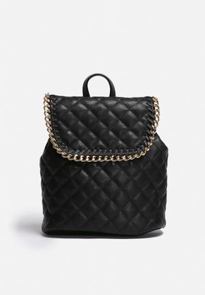 Lexi PU Quilted Backpack