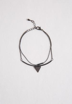 Vero Moda Dannie Bracelet Jewellery Gunmetal