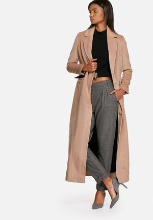 Wrap over coat