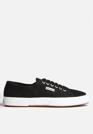 SUPERGA 2750 Cotu Classic Canvas Sneakers Black / White