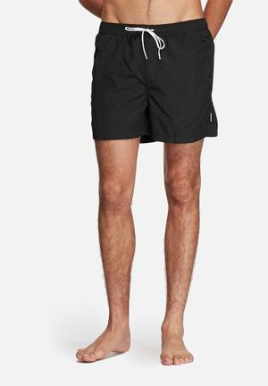 Jack & Jones Malibu Swim Short Swimwear Black