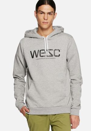 WeSC WeSC Hoodie Hoodies & Sweats Grey Melange