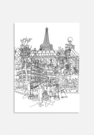 David Bushell Paris! Art