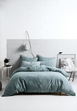 Willow stone duvet cover set