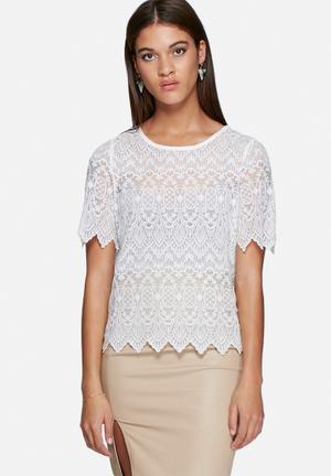 Vero Moda Grita Top Blouses White