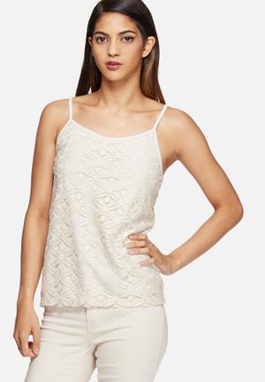 Ally lace singlet