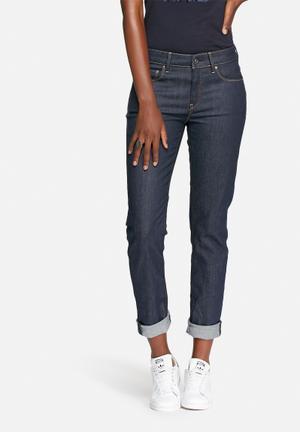 G-Star RAW 3301 High Straight Raw Denim Jeans Blue