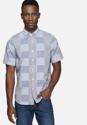 Edwin Standard Slim Shirt Blue