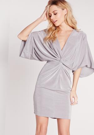 Kimono mini dress