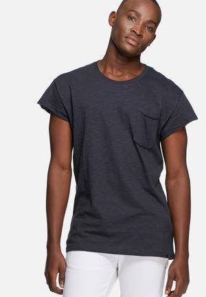 ADPT. Hall Tee T-Shirts & Vests Navy