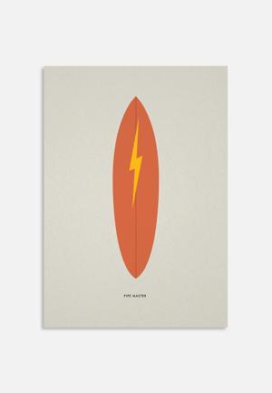 Sixth Floor Surfboard 3 Art