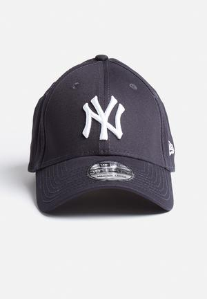 New Era 39THIRTY NY Yankees Headwear Blue And White