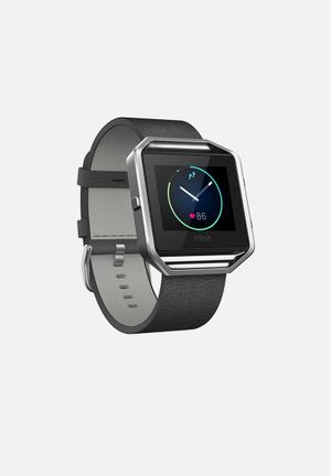 Fitbit Fitbit Blaze Fitness Trackers & Accessories Black & Silver