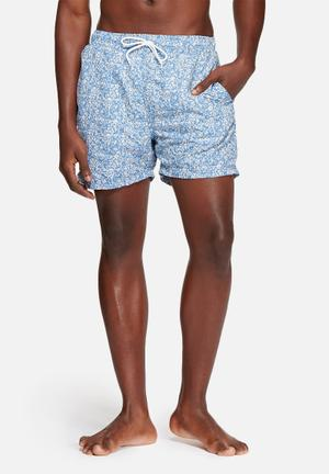 Selected Homme Classic Swim Shorts Swimwear Blue