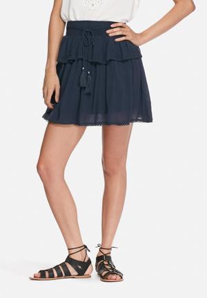 VILA Yoka Skirt Navy